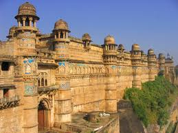 Gwalior Fort in India