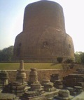 Dhamekh Stupa in India