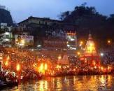 Ganges Arti at Har-Ki-Pauri, Haridwar tour