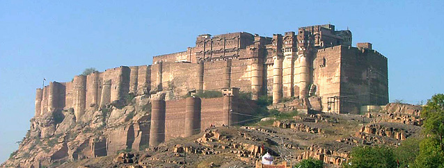 Mehrangarh Fort, Rajasthan Tour Packages