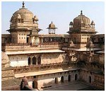 Orchha Fort in India