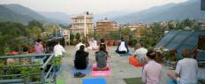 Yoga in Himalaya
