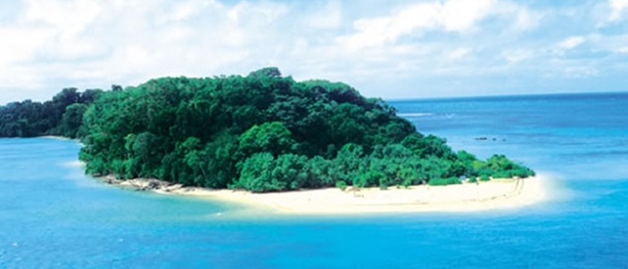 Beach in Andaman Nicobar Islands